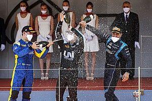 Теннисисты вдохновили тест-пилота Williams на первый подиум в Формуле 2