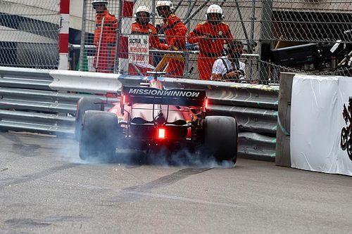 "Leclerc ""not too harsh on myself"" over Q3 Monaco crash"