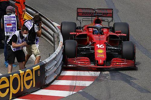 Leclerc logra la pole tras causar una bandera roja en Mónaco