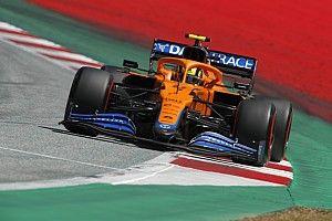 Норрис: Батареи Ferrari и Honda сильнее Mercedes