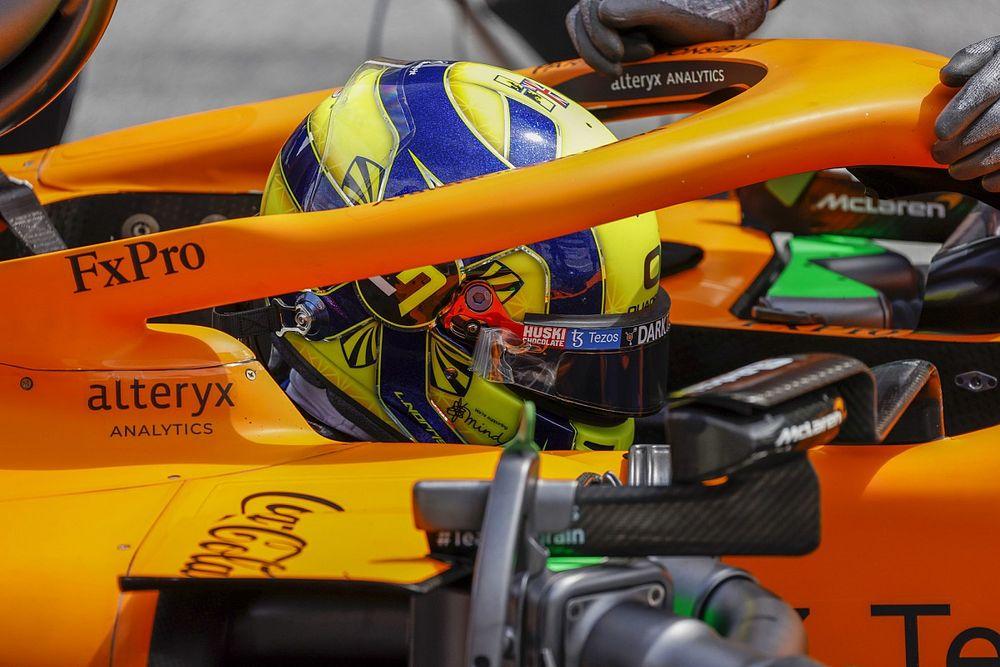Norris, apto tras su accidente, podrá disputar el GP de Bélgica