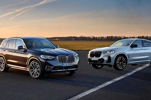 Az X3 és X4 frissítését is bemutatta a BMW