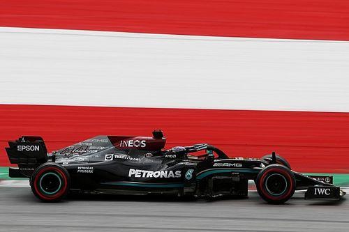 Verstappen za Mercedesami