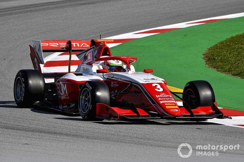 Barselona F3: Schumacher-Fittipaldi temas yaşadı, Caldwell kazandı