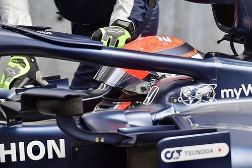 Tsunoda: ''Bir yere çarpmadan F1 aracının sınırını bulmak zor''