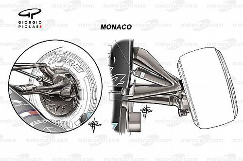 F1: Entenda as mudanças do carro da Mercedes que prejudicaram Hamilton em Mônaco