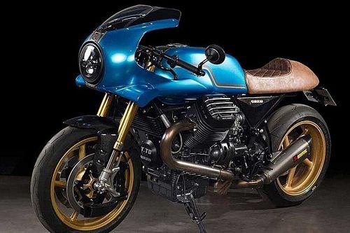 Esta Moto Guzzi Bellagio 2011 celebra el centenario de la marca