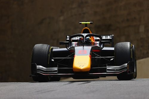 Baku F2: Vips leads practice from Boschung
