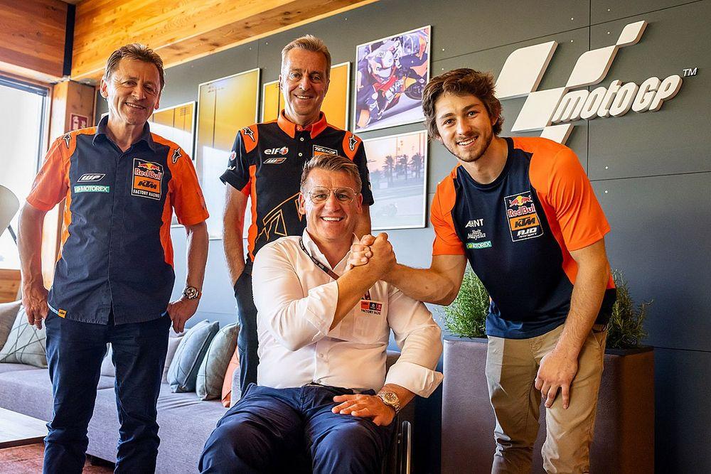 KTM anuncia la promoción de Gardner al equipo Tech3 de MotoGP
