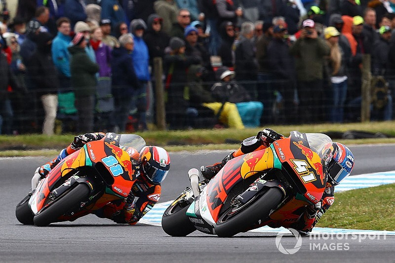 Moto2 Australien 2019: Doppelsieg für KTM vor Lüthi, Marquez nur Achter