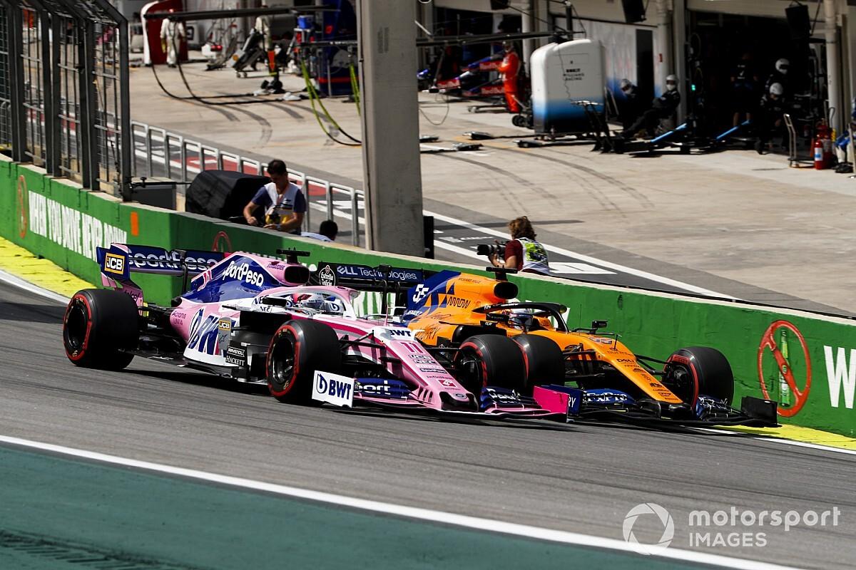 Racing Point'le devam edeceğini söyleyen Perez, Sainz'ın Ferrari'ye gideceğini düşünüyor