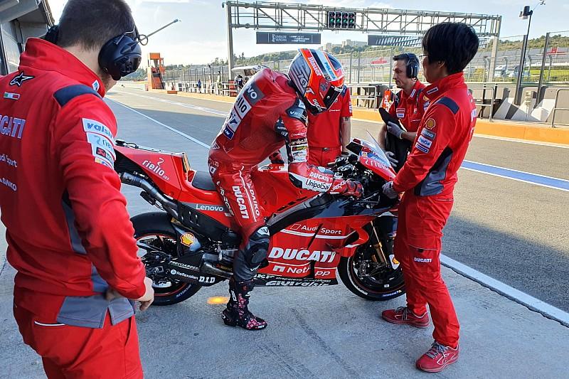 Ducati proyecta un test privado en Valencia a final de marzo