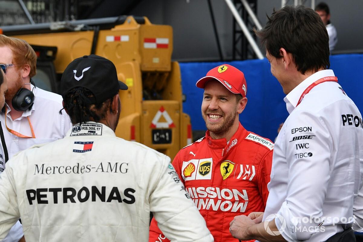 """Wolff: """"Non escludo Vettel"""". Solo se Hamilton si ferma"""
