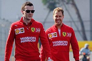 """Vettel: """"Per l'anno prossimo avremo ambizioni importanti"""""""