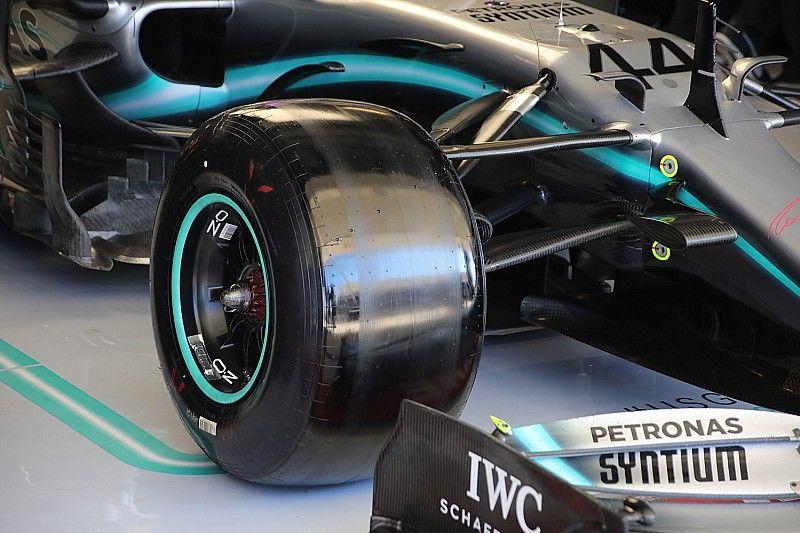 F1 keurt Pirelli-band voor 2020 mogelijk af