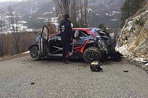 """WRC, Tanak: """"Il crash? Il problema è aver guidato poco la i20"""""""
