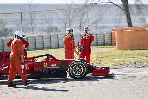 Sima Mercedes 1-2 Barcelonában a harmadik tesztnapon, gondjai vannak a Ferrarinak?