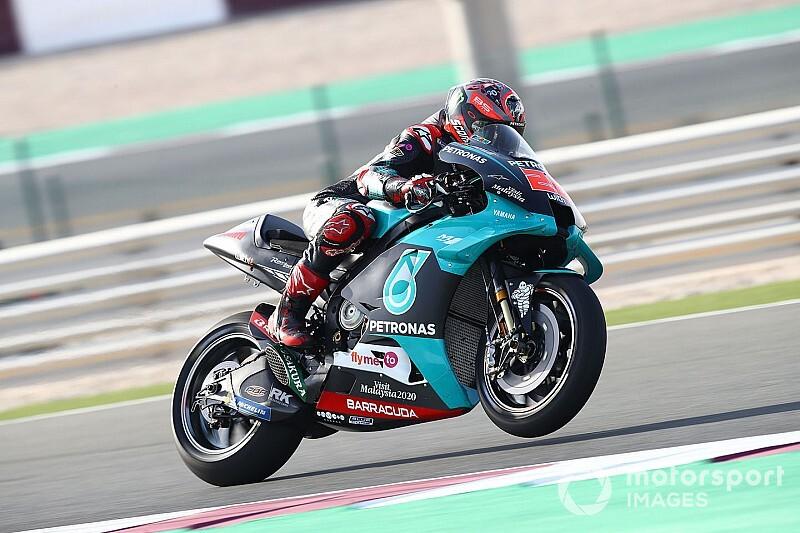 Quartararo volta a liderar testes em dia de forte queda de Márquez
