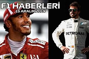 Video: Hamilton Ferrari'ye, Alonso Mercedes'e - 15 Aralık 2019 F1 ve Motor Sporları Haberleri