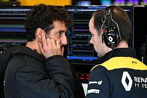 Ricciardo ménage moins les ingénieurs Renault qu'en 2019