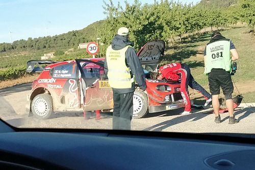 WRC, Rally Catalogna, PS2-3: problemi idraulici per Ogier!