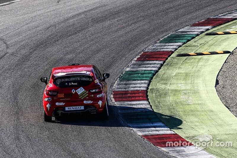 Giulio Bensi è il primo pilota della Clio Cup Italia 2020