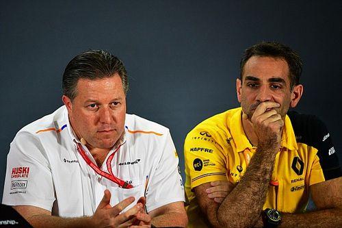 """Ricciardo teleurgesteld in CEO: """"Zak Brown is bang voor naalden"""""""
