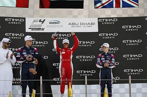 Női győztese volt az Abu Dhabiban rendezett F4-es futamnak