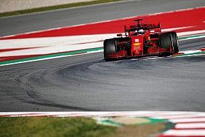 Test Barcellona, Day 2: Ferrari al top, ma contro vento