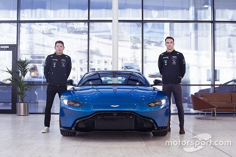 Aston Martin annonce ses pilotes pour Le Mans