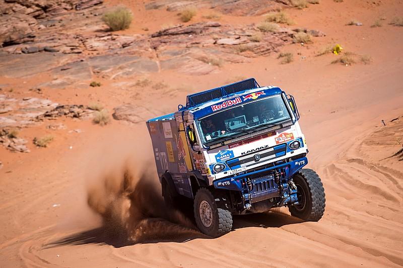 Van Kasteren achter Russisch drietal in vierde etappe Dakar 2020