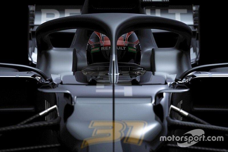 Renault muestra solo parcialmente su nuevo RS20
