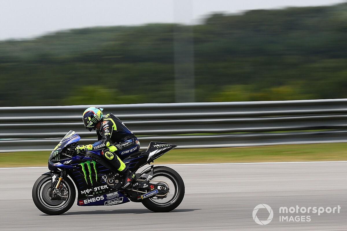 Rossi nem teljesen elégedett az új Yamahával