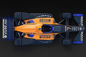 アロー・マクラーレンSP、2020年インディカーを戦うマシンのカラーリング公開