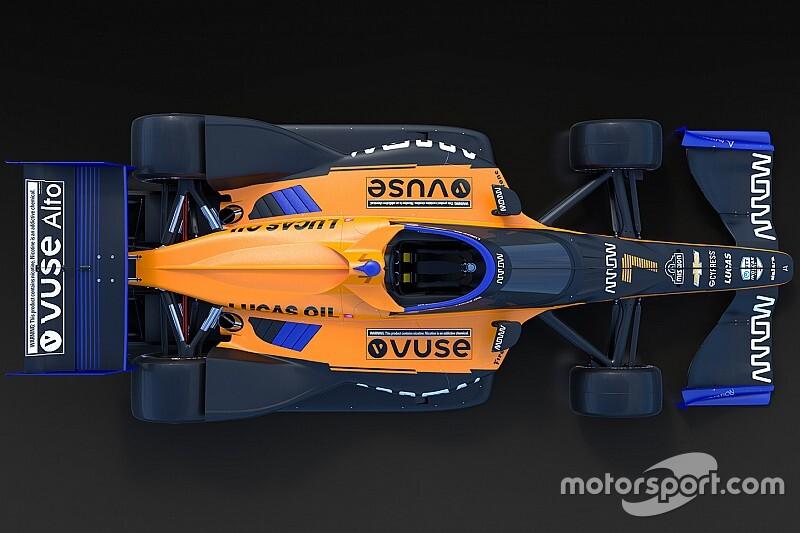 Bemutatkozott a McLaren 2020-as IndyCar-festése