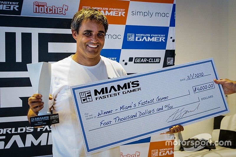 Montoya demuestra su talento en simuladores con victoria