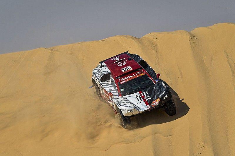"""Alexandre Pesci et Stephan Kuhni: """"objectif atteint"""" sur le Dakar pour Rebellion Racing"""