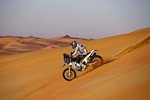 Quintanilla se acerca, pero Honda acaricia el Dakar