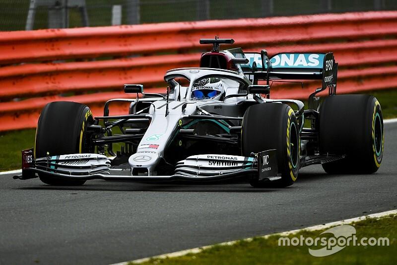 Foto's: Mercedes doet shakedown met W11 op Silverstone