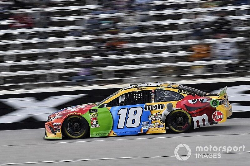 """Kyle Busch: Logano is """"who we're racing"""" at Phoenix"""