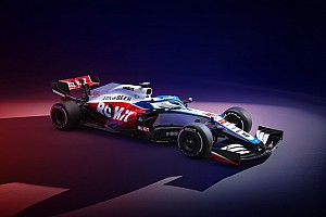 Williams unveils 2020 F1 car with all-new livery