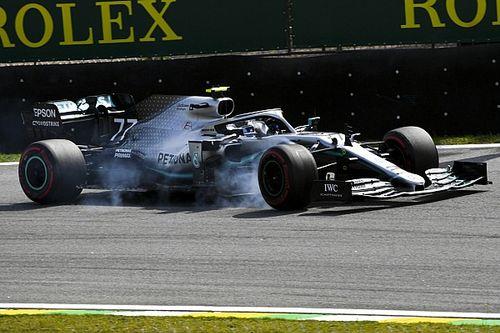 В Mercedes объяснили сход Боттаса в Бразилии