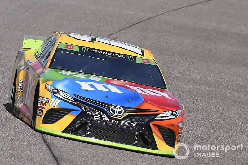 Kyle Busch tops Harvick for Stage 2 win, drama for Truex