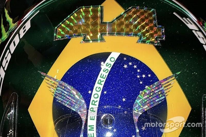 GALERIA: Veja o capacete de Hamilton para o GP do Brasil de F1