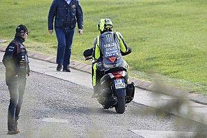 "Rossi spreekt van ""zware dag"" na twee crashes in Valencia"