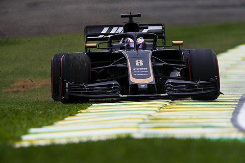 """Grosjean en Q3 : """"C'est toujours la voiture de Melbourne"""""""