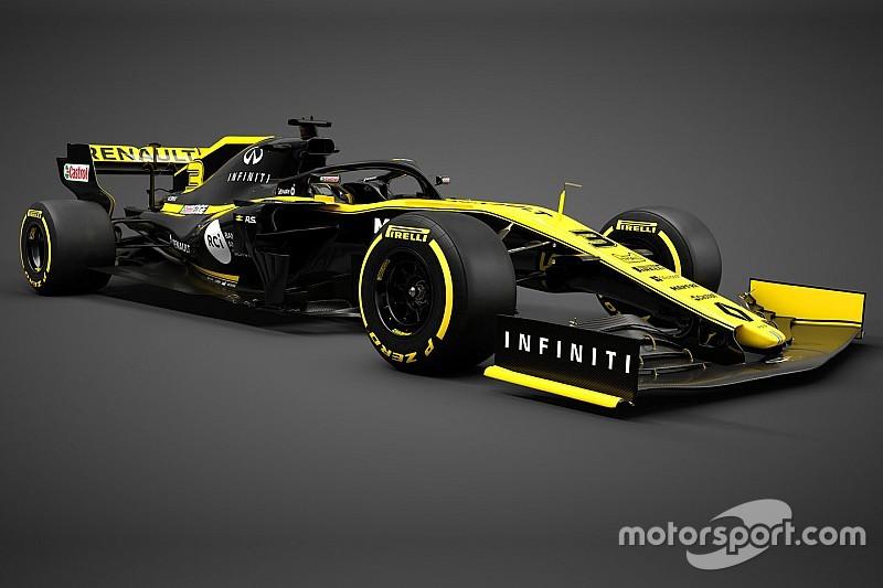 Renault apresenta carro para a temporada de 2019