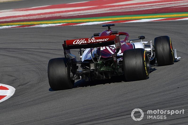 Az Alfa Romeo áll az élen Barcelonában a Red Bull és a keveset ment Ferrari előtt