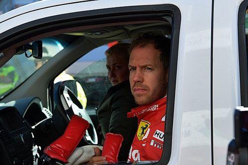 """Vettel : Trouver la cause du crash est une """"priorité absolue"""""""