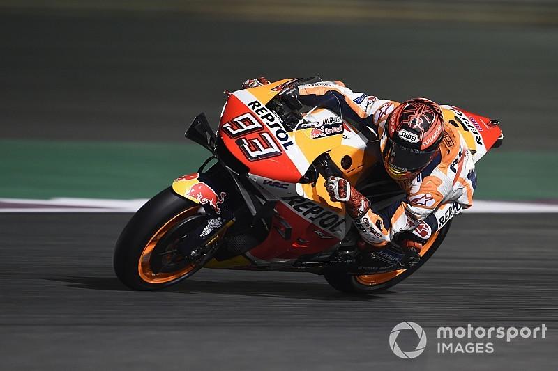 Marquez 'bijna 100 procent' voor seizoensopener in Qatar